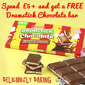 Free Drumstick Chocolate Bar