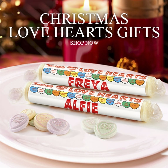 Christmas Love Hearts Gifts