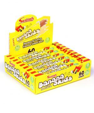 60 Banana Skids chew bars