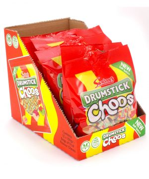 12 x Drumstick Choos Sharing Bag 150g