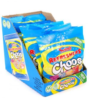 12 x Refresher Choos Sharing Bag 150g