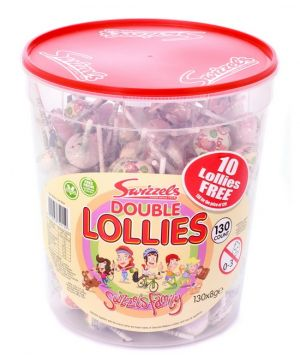 Tub of 120 Double Lollies