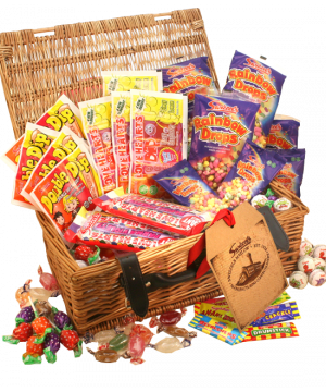 Vegan and Vegetarian Personalised Retro Sweet Hamper 2.5kg