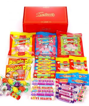 Retro Sweet Premium Red Hamper 1.75kg