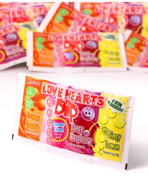 Pick-n-Mix Love Hearts Double Dip 23g