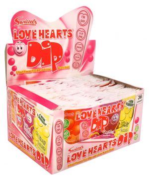 36 Love Hearts Dip sachets