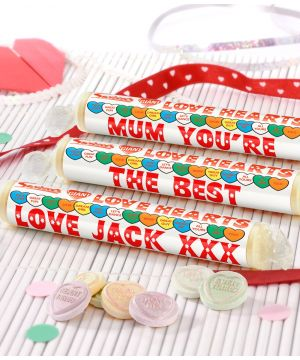 Personalised Mothers Day Love Hearts