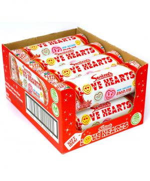 8 x 108g Love Hearts Tube