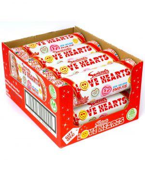 8 x 108g Love Hearts Tube