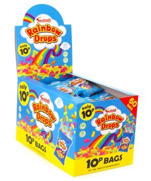 60 x 10g Rainbow Drops bags