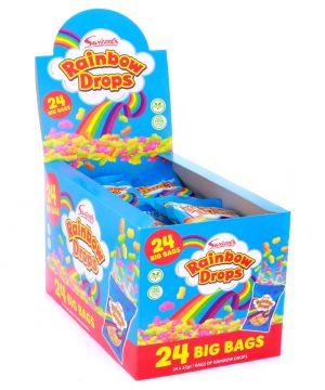 24 x 32g Rainbow Drops bags