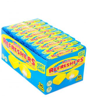 36 Original Lemon flavour Refresher Stick Packs
