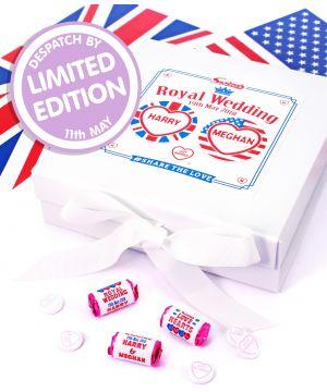 50 commemorative Royal Wedding Love Heart rolls in limited edition presentation box