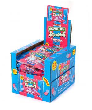 24x45g Drumstick Squashies Bubble Gum Flavour