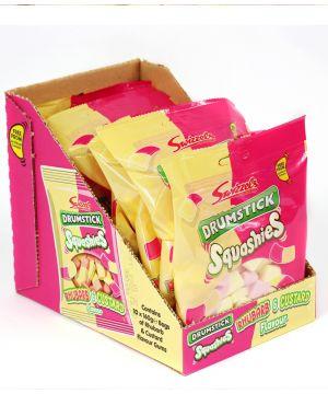 10x160g Squashies Rhubarb & Custard flavour