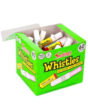 60 Candy Whistles